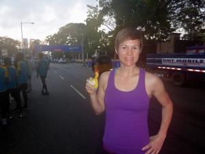 Miss Chicken runs her first Lagos 10K.