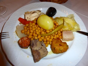 Typical Spanish fare- a bit rich for my taste, but fun