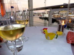 Lobster and local fish…and of course, fabulous and affordable South African wine.