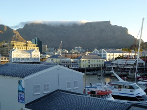 Table Mountain in the background