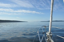 Glassy calm of Griffin Bay
