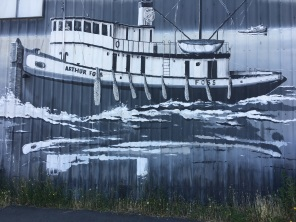 Port Townsend docks.